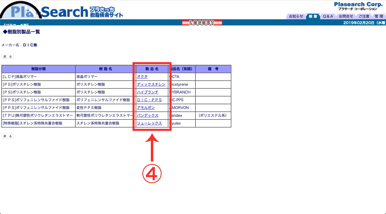 ぷらさっち管理画面STEP3
