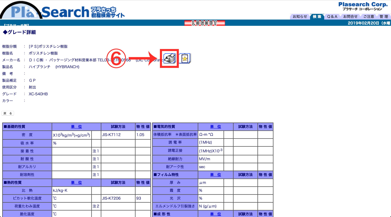 ぷらさっち管理画面STEP5